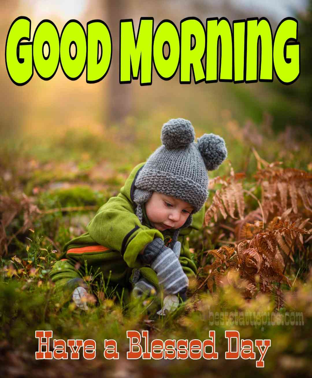 Baby boy good morning images for whatsapp