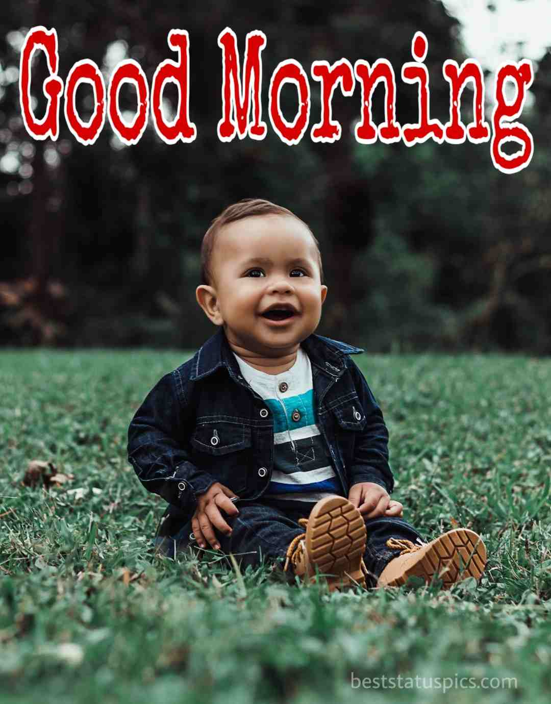 Good morning baby boy images for facebook