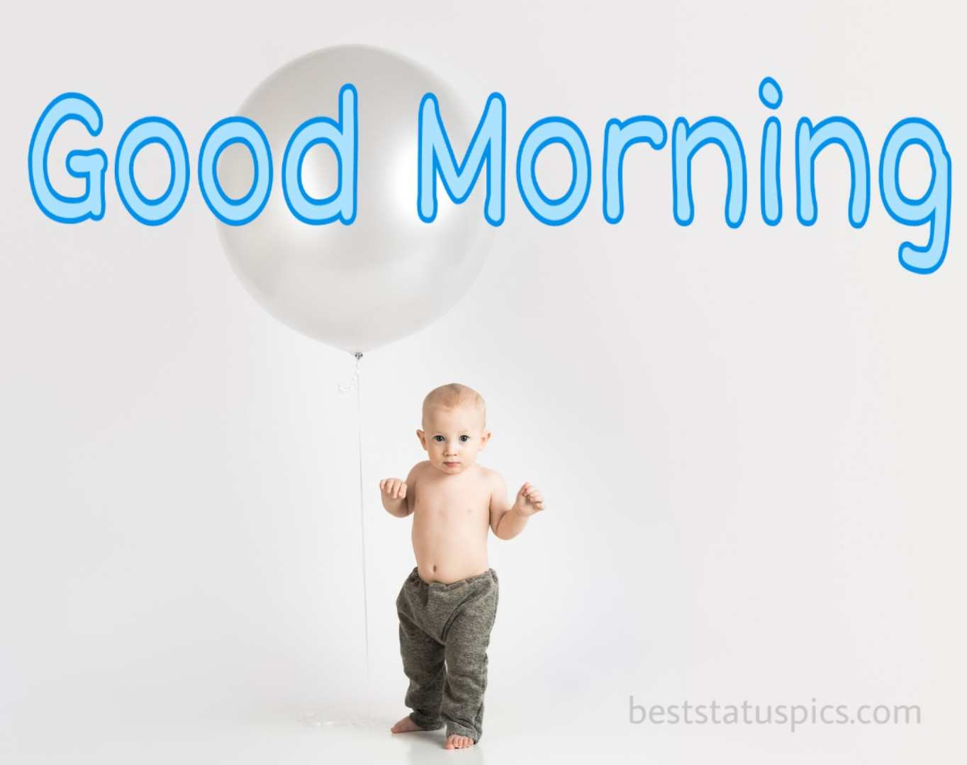 Good morning kids image for whatsapp facebook profile