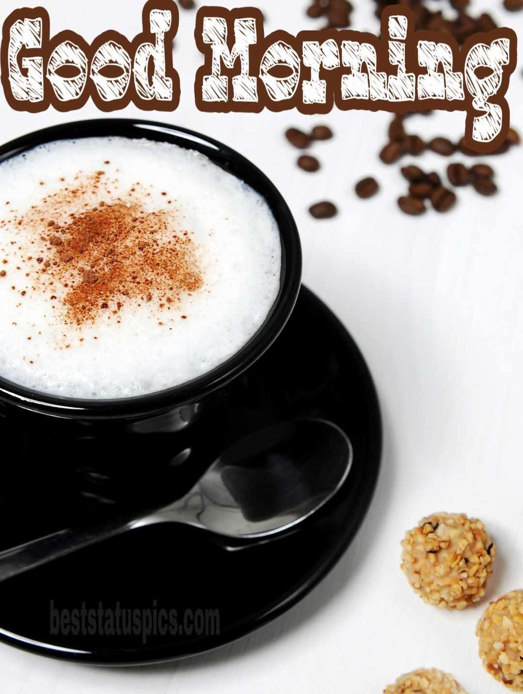 Good morning coffee wallpaper HD