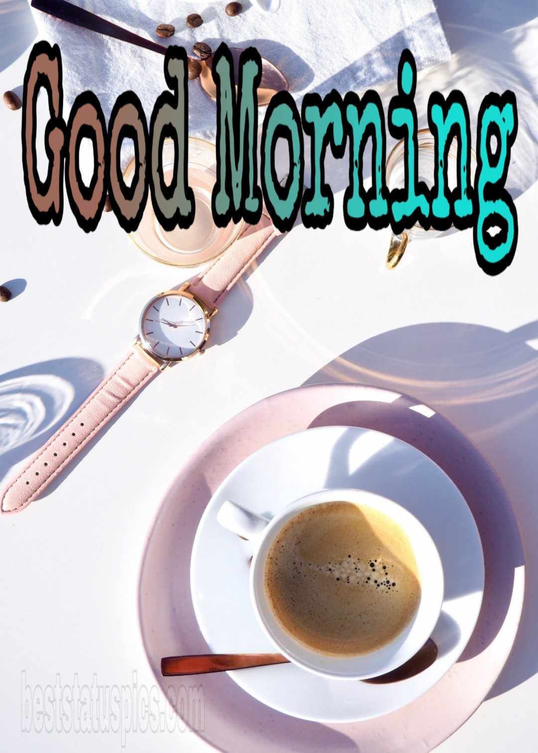 Good morning cup of coffee image free download