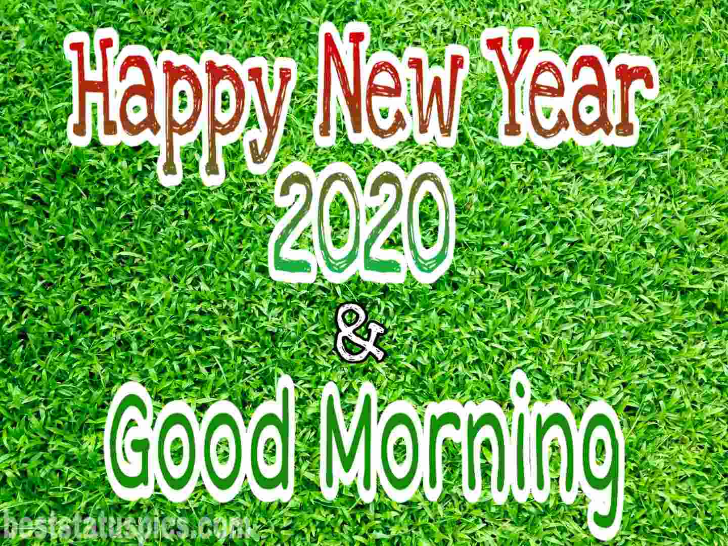 Good morning happy new year 2020 Facebook Story