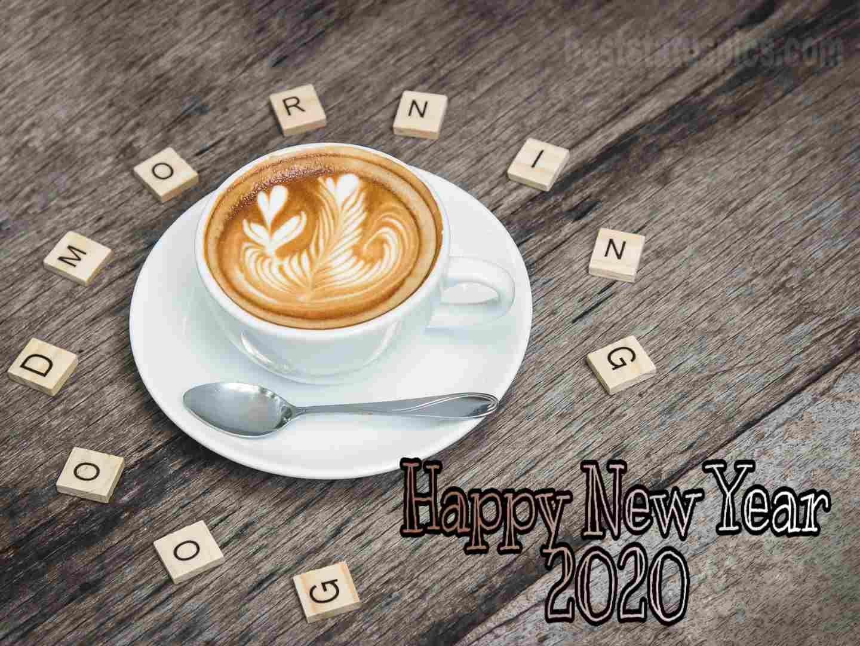 Good morning happy new year 2020 image Whatsapp status