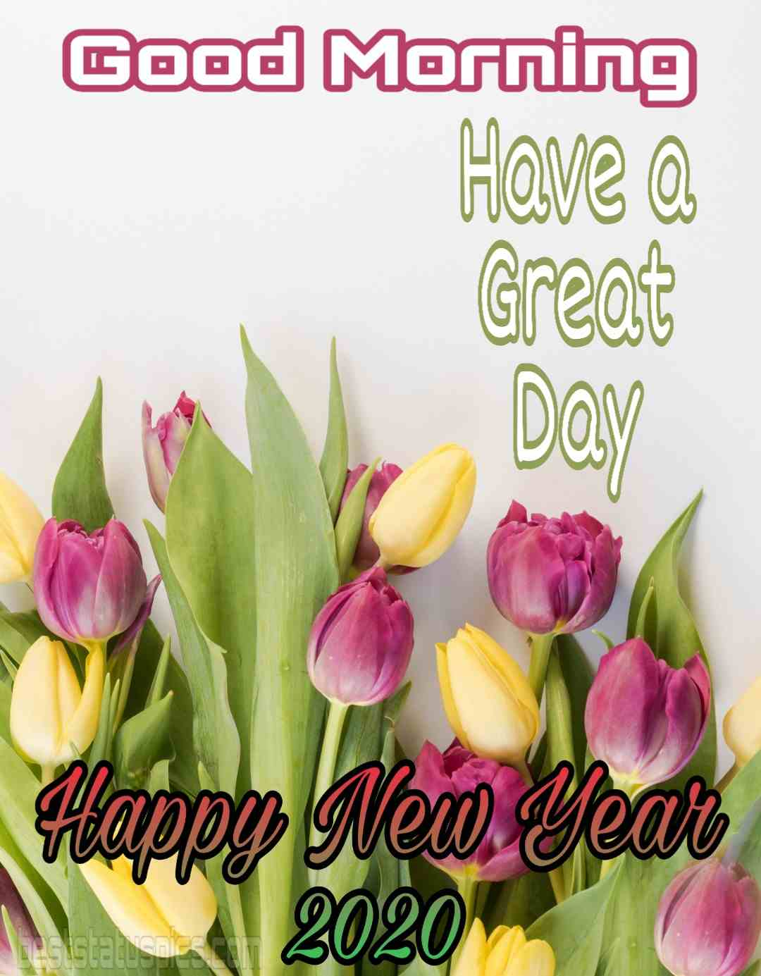 Good morning happy new year's eve 2020 image Whatsapp status