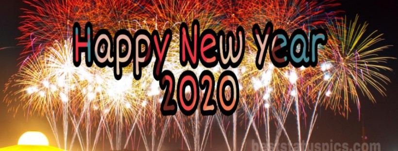 Download Happy New Year 2020 Facebook Cover Pic