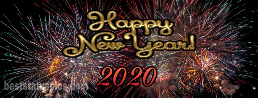 Download HD Happy New Year 2020 Facebook Cover