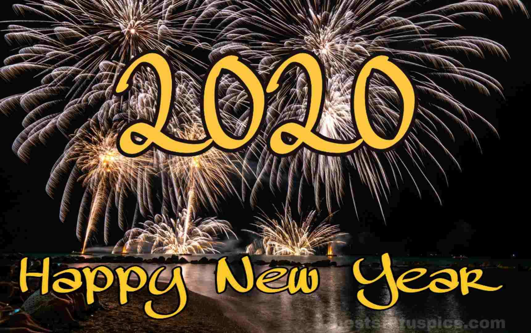 Download Happy New Year 2020 Image Facebook Status