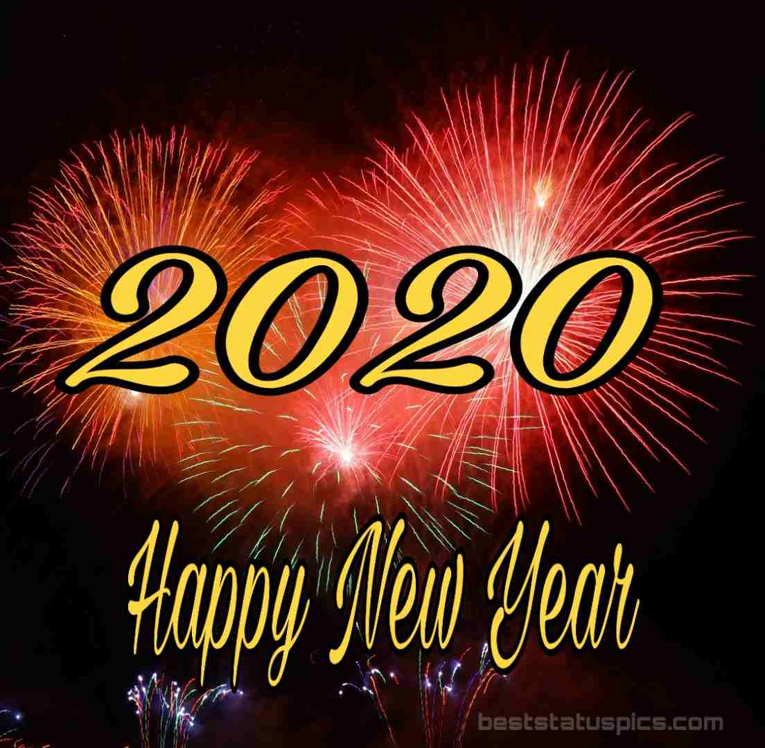 Happy New Year 2020 Image Instagram Story