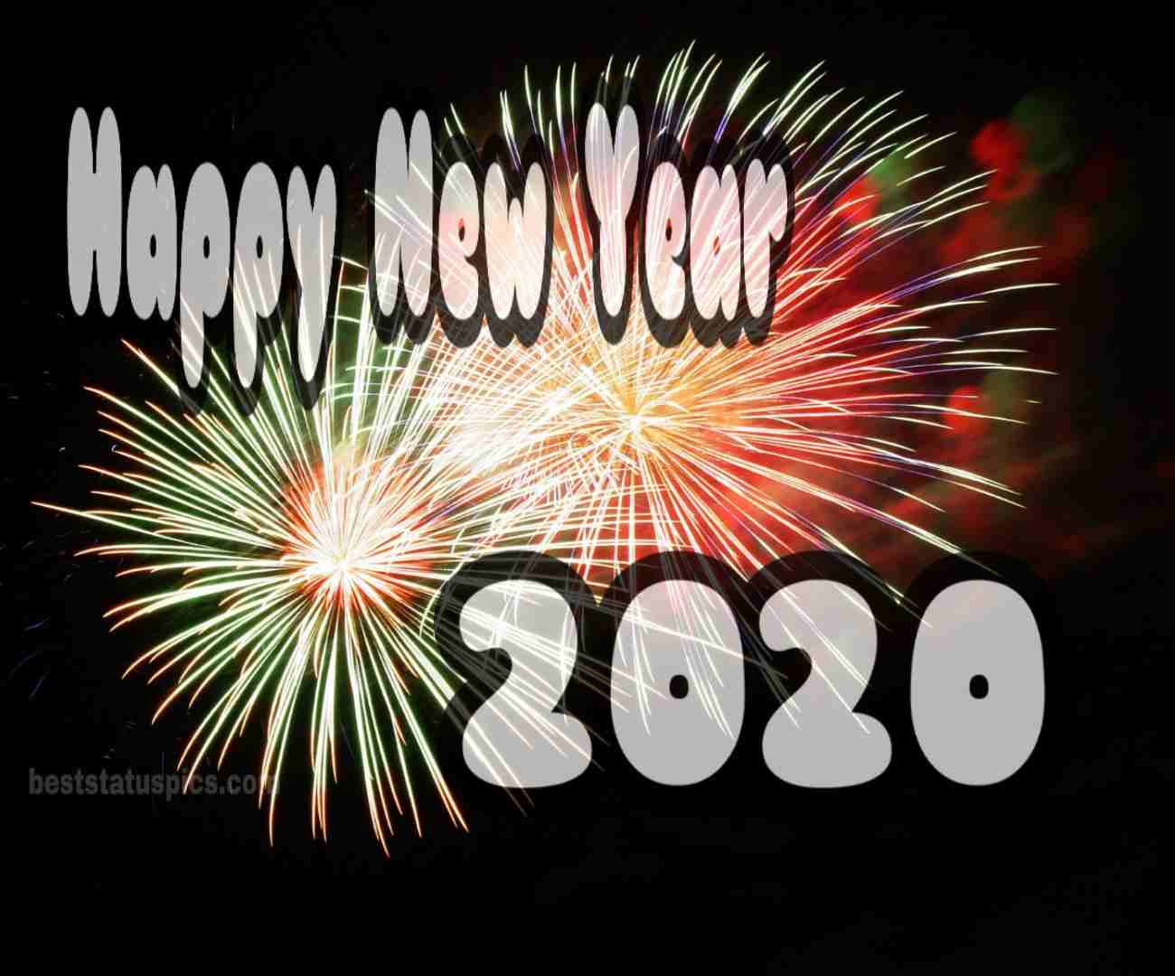 Whatsapp DP Happy New Year 2020 Picture