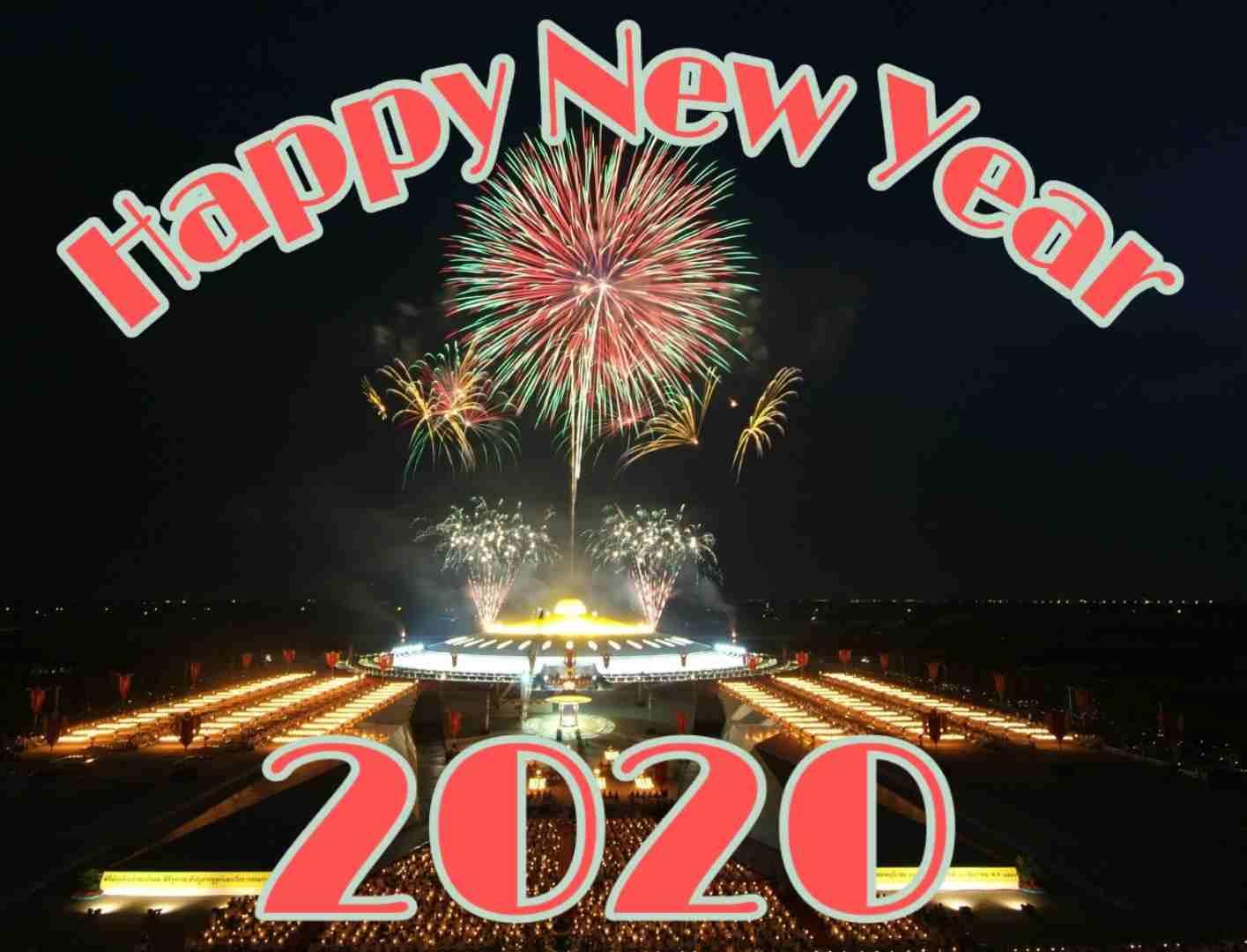 Whatsapp DP Beautiful Happy New Year 2020 Photo