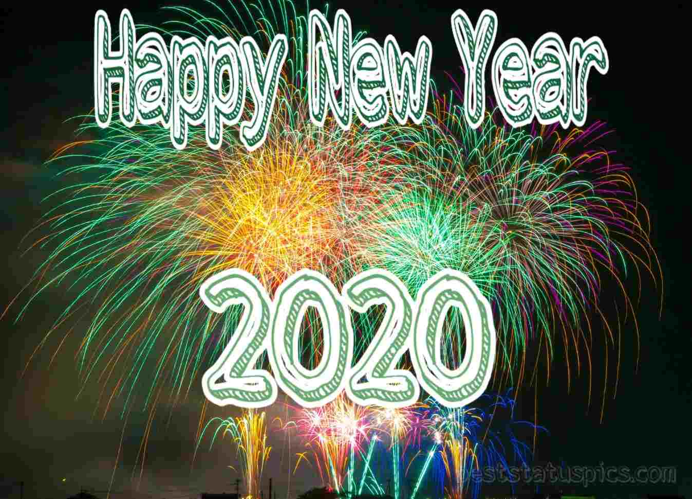 Whatsapp New Happy New Year 2020 HD for friends
