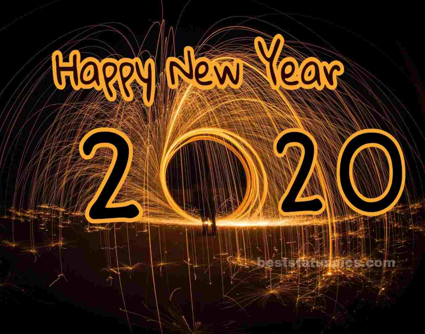 Amazing New Happy New Year 2020 pic for family