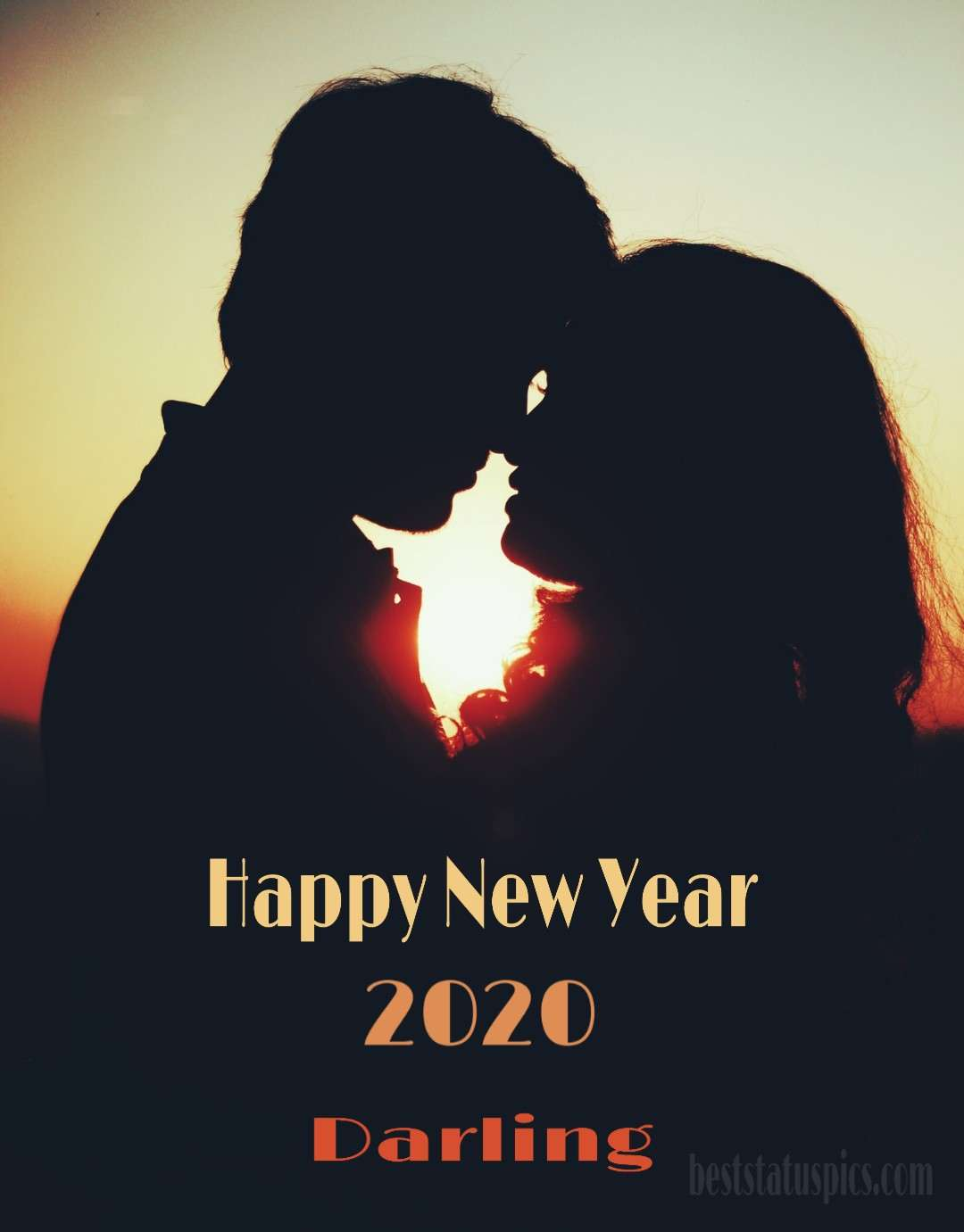 Happy New Year 2020 Image for lovers Whatsapp