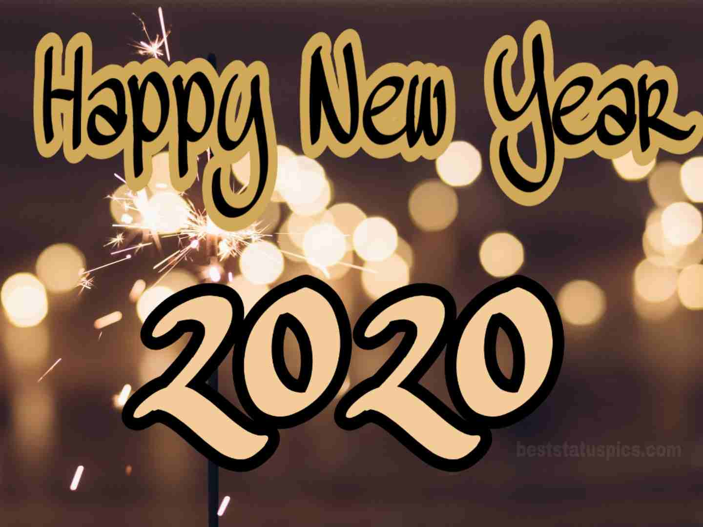 Happy New Year 2020 pic for boss