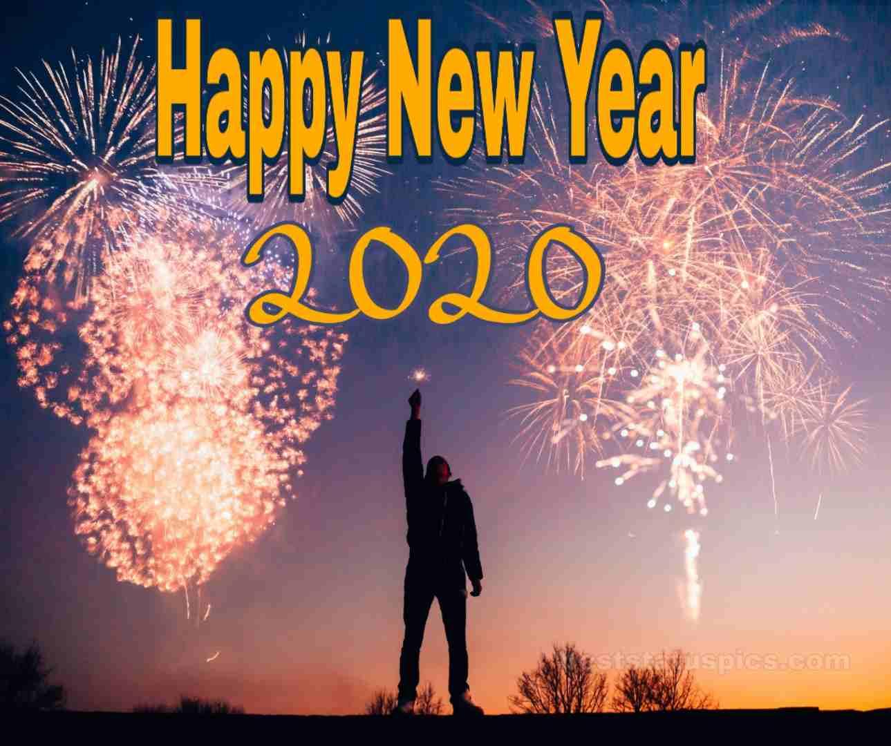 Attitude Happy New Year 2020 Image Whatsapp Dp