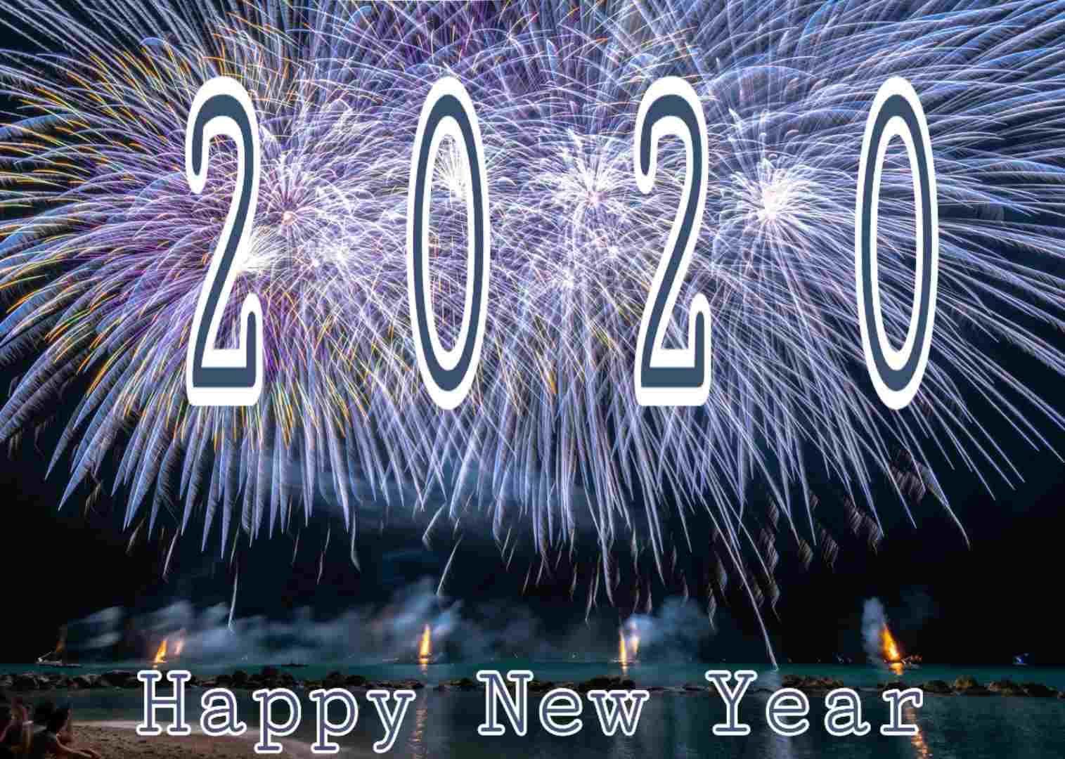 Download Happy New Year 2020 Image HD Wallpaper
