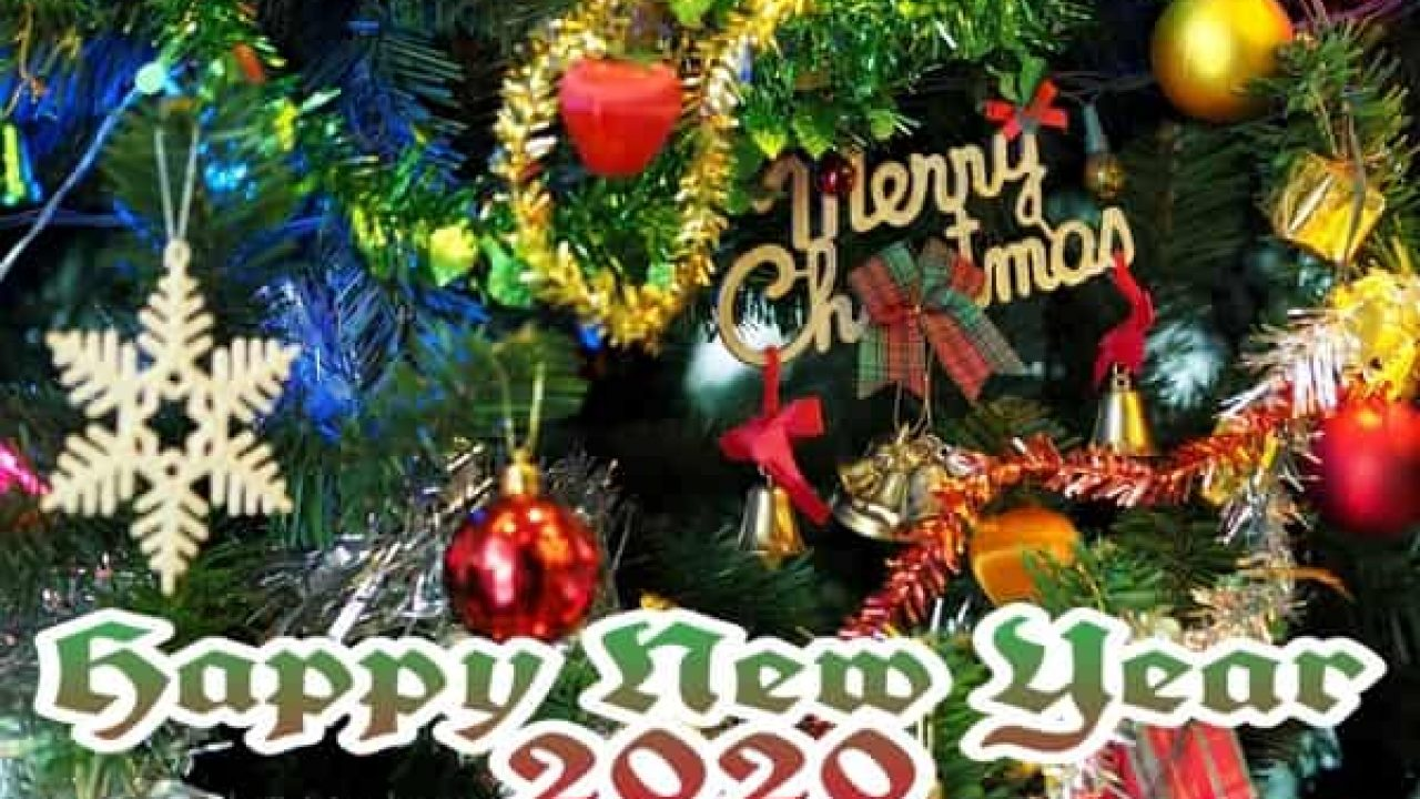 Merry Christmas And Happy New Year 2020 Fb Banner Merry Christmas And New Year 2020 | Best Status Pics