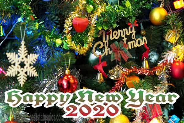 Merry Christmas Happy New Year 2020 Facebook Cover Whatsapp dp