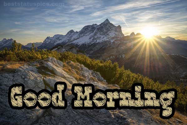 Good Morning Mountain Image Featured