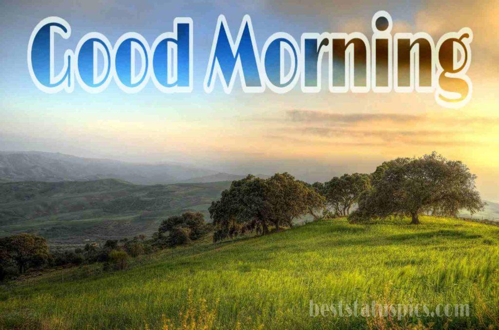 Good morning mountain nature HD