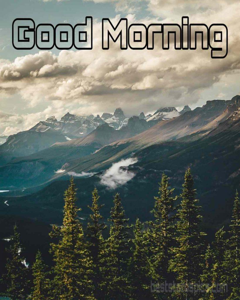 Good morning smoky mountains
