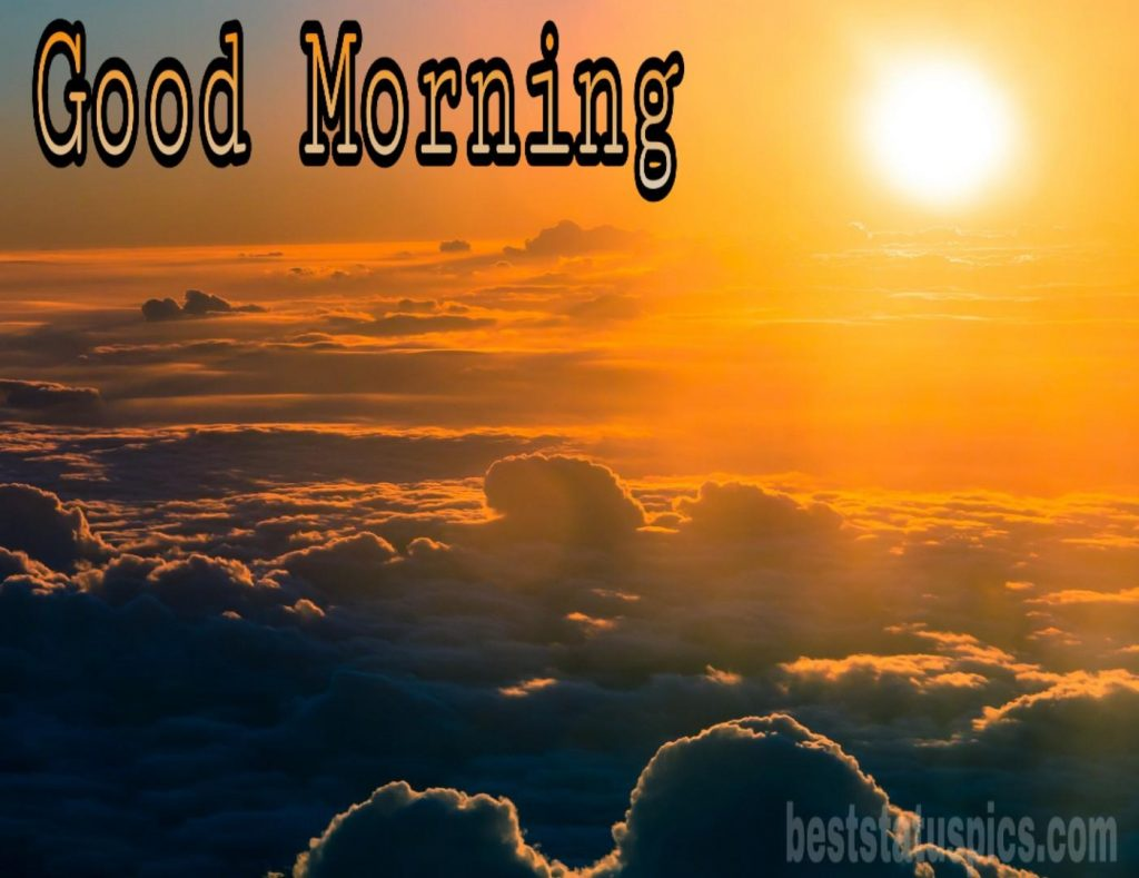 Good morning sunrise clouds images hd
