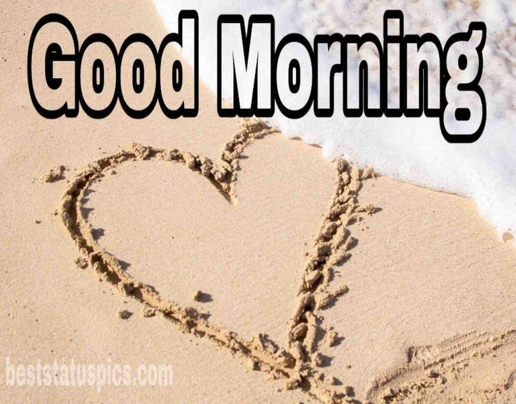 Good morning love image HD free download