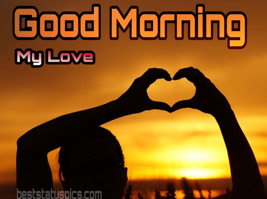 Good morning my love images download
