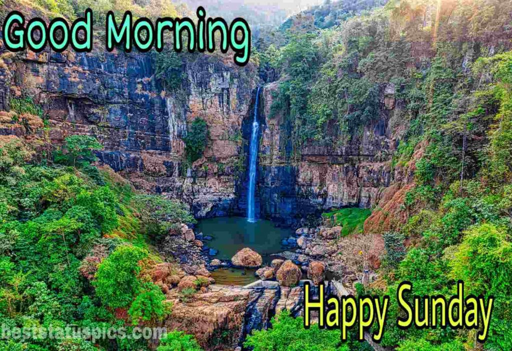 Good morning happy sunday nature wallpaper