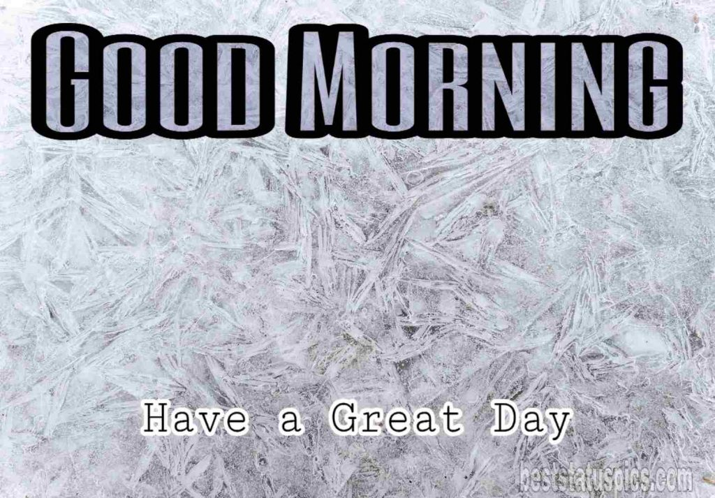 Good morning cold image