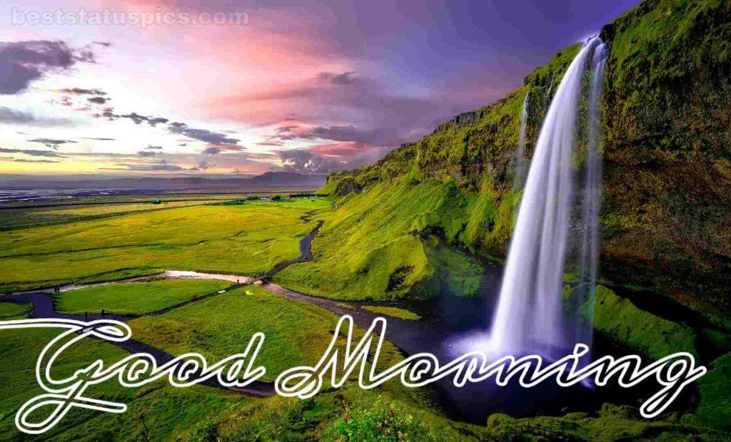 Beautiful good morning nature hd image