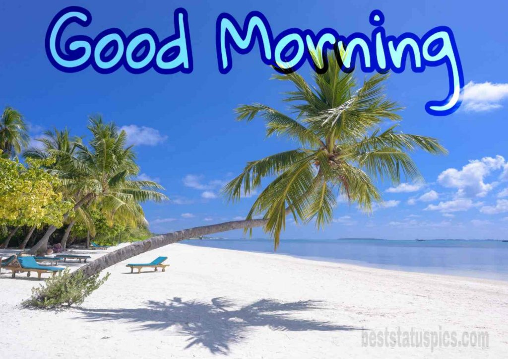 Good morning beach picture image HD