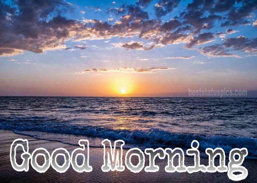 Good morning sunshine beach image