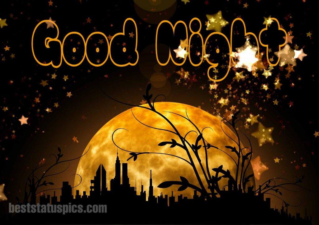 Good night moon wallpaper HD