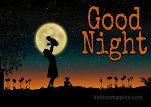 Moon night image download