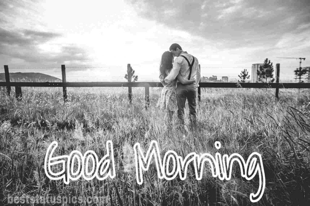 Sweet couple good morning image