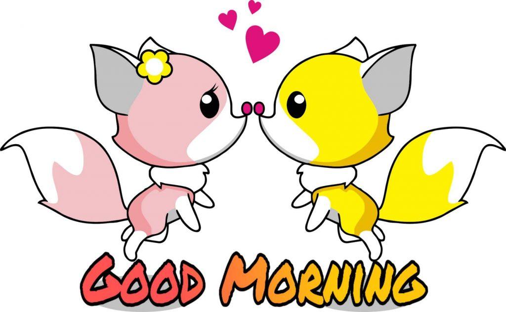 Goodmorning romantic image
