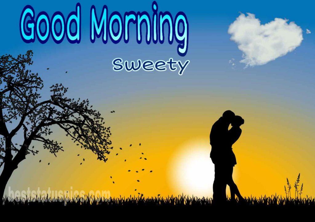 Good morning image love couple romance HD