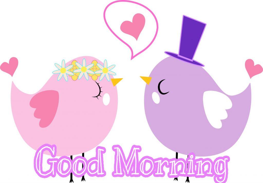 Good morning romantic love image