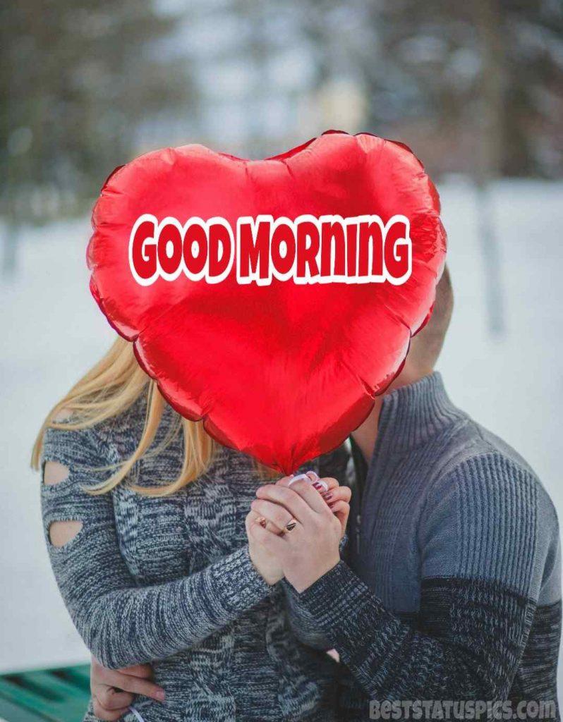 Loving good morning image