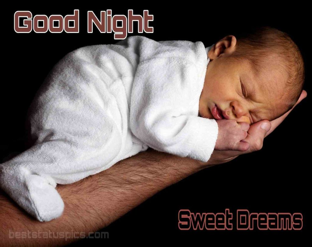 Good night baby image full hd with sleeping