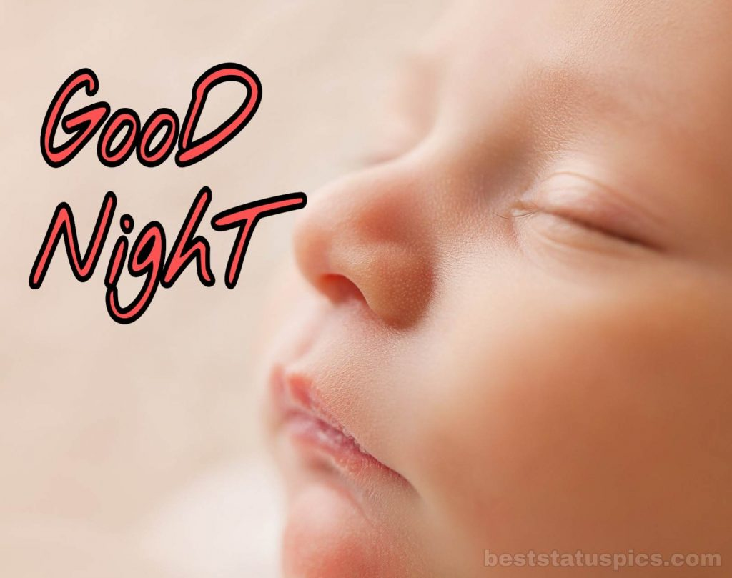 Good night beautiful hd quality babies image download