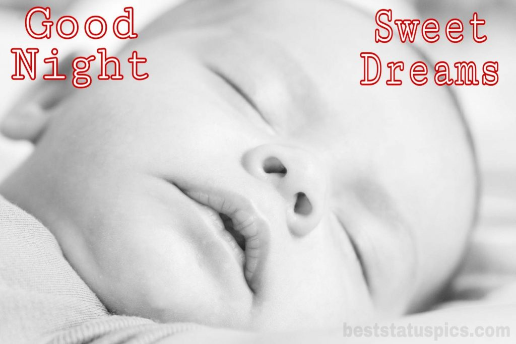 Good night pictures baby sleeping