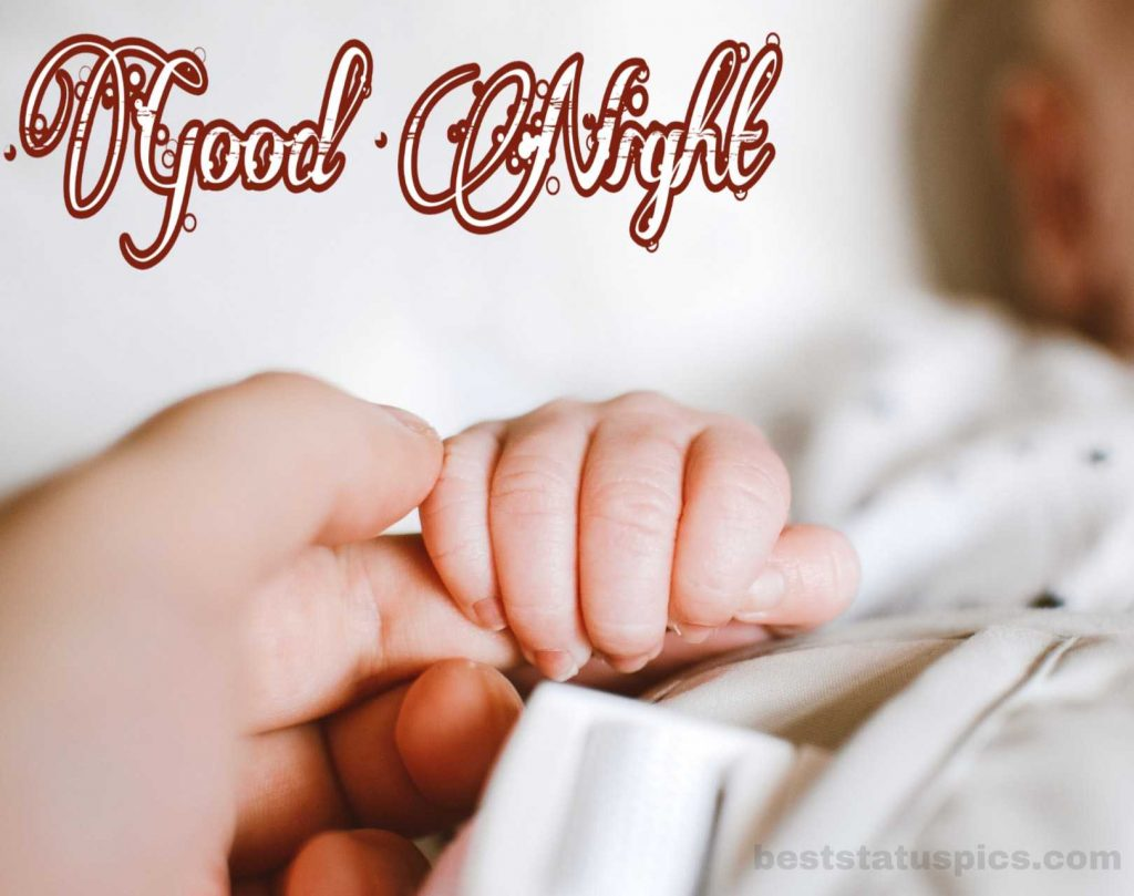 Baby good night hd image