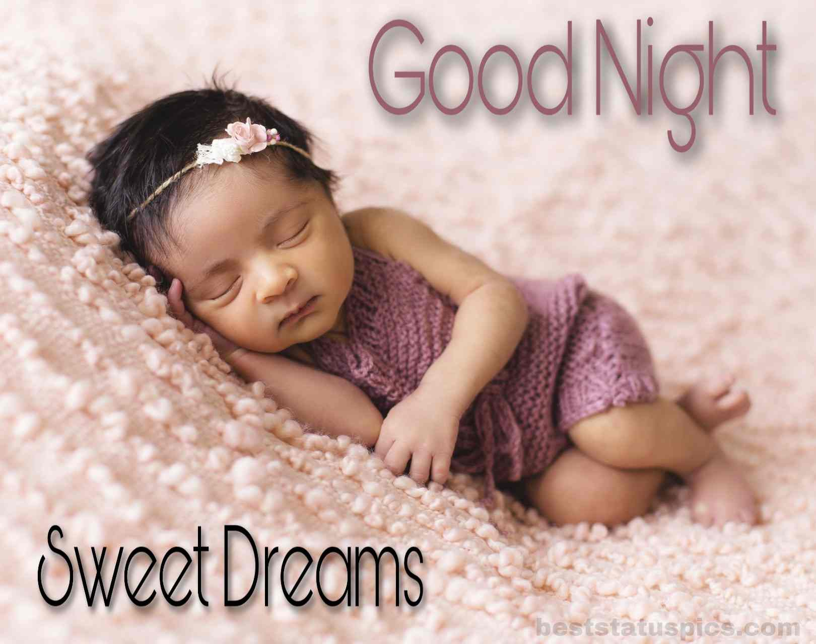 821 Cute Baby Good Night Images Free Download Hd Best Status Pics