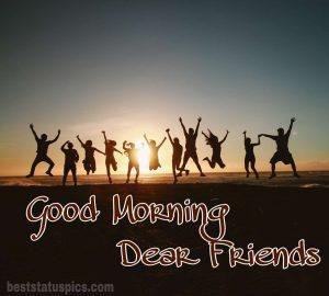 Lovely good morning image friendship