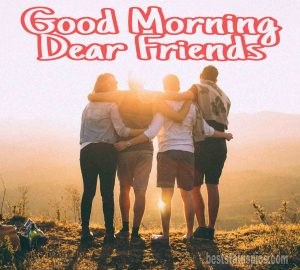 Good morning friends images HD