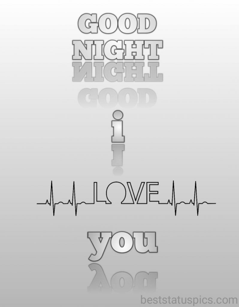 Good night I love you jaan photo
