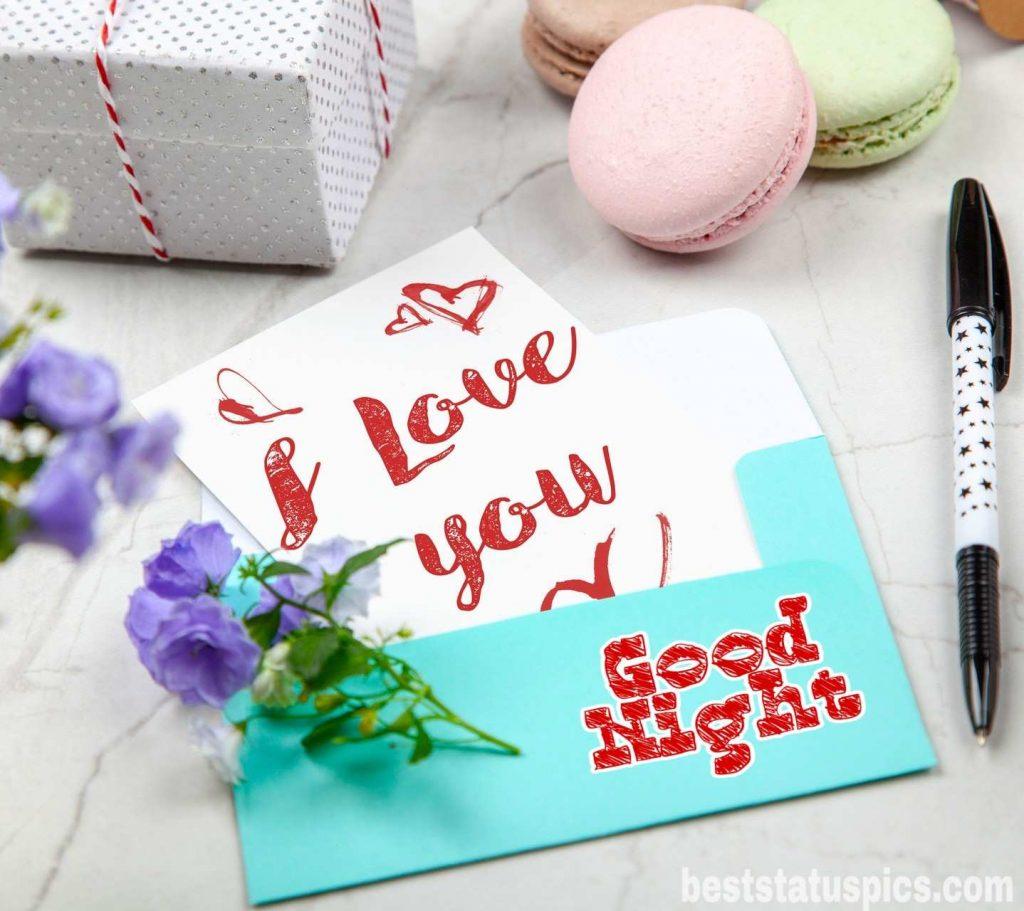 Good night honey I love you image