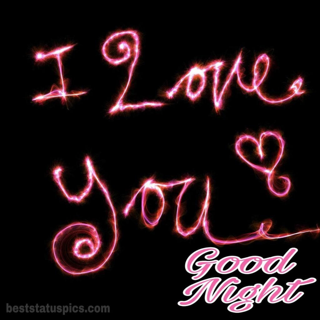 Good night I love you babe images
